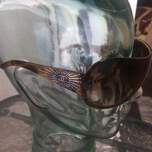 Chanel Starburst Swarovski Sunglasses Like New
